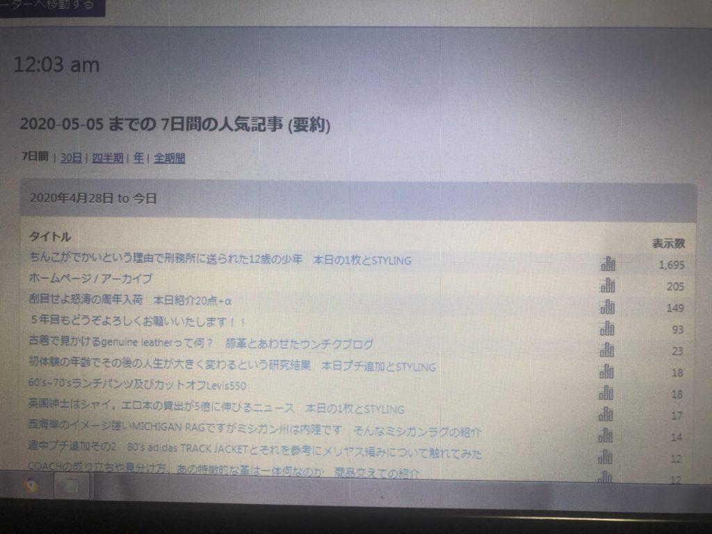 ブログの前ふりにシモネタを書くリスク 本日WEBSTORE 追加商品